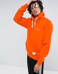 Худи оранжевого цвета с вышитым логотипом Criminal Damage - Оранжевый