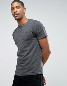 Меланжевая футболка D-Struct - Серый
