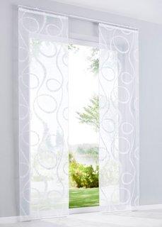 Японская штора Джой (1 шт.), Шина с лентой велкро (белый) Bonprix