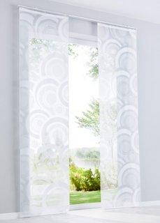 Японская штора Исла (1 шт.), Шина с лентой велкро (белый) Bonprix