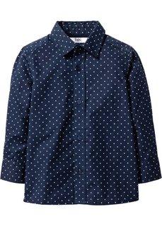 Рубашка с принтом (темно-синий/белый с рисунком) Bonprix