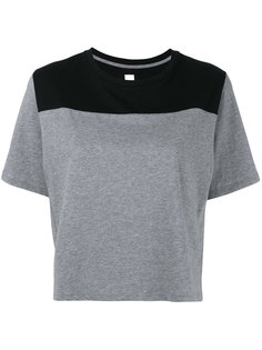 panelled T-shirt Sàpopa