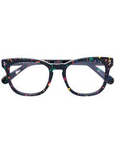 очки в разноцветную крапинку  Stella McCartney