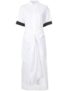 платье-рубашка с бантом Tome