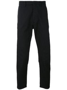 полосатые классические брюки  Pence