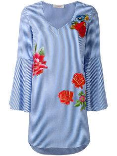 блузка с цветочным принтом Jucca