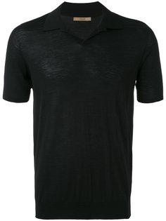 классическая футболка-поло  Nuur