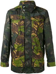 куртка с камуфляжным принтом G-Star