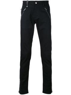 узкие байкерские брюки Alexander McQueen