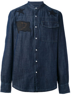 denim appliqué shirt Hydrogen