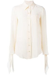 блузка с завязками на манжетах Chloé
