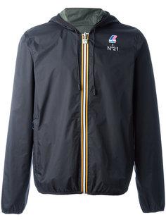 куртка с принтом-логотипом Nº21