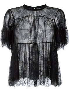 блузка с оборками  Philosophy Di Lorenzo Serafini