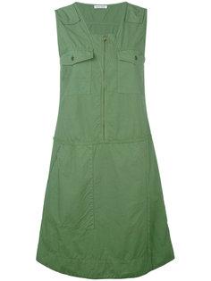 платье с карманами на груди Tomas Maier
