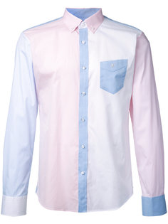 рубашка с контрастными панелями Loveless