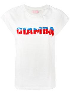 футболка с логотипом  Giamba