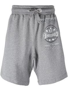 спортивные шорты с логотипом Moschino