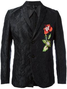 жаккардовый пиджак с цветочным принтом Christian Pellizzari