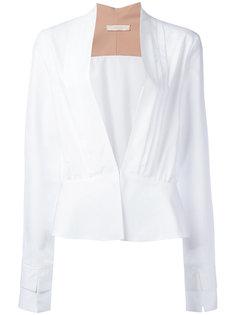 блузка со сборками Ssheena