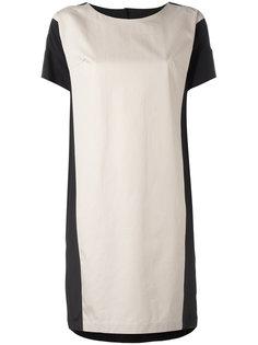 платье-футболка с контрастной панелью Barba