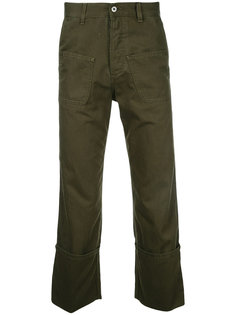 брюки с накладными карманами Loewe