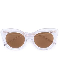 """солнцезащитные очки  с оправой """"кошачий глаз"""" Thom Browne"""