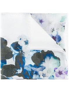 шарф с цветочным рисунком Elie Saab