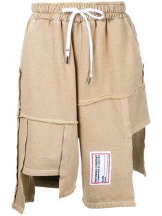 шорты в стиле пэчворк Process Liam Hodges