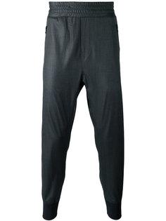 костюмные брюки с узкими манжетами Wooyoungmi
