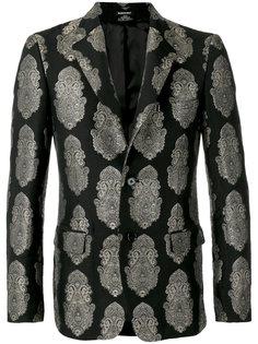 пиджак с вышивкой Alexander McQueen