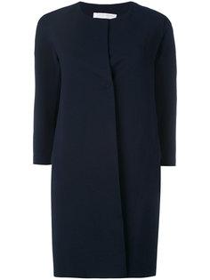 пальто миди без воротника  Harris Wharf London