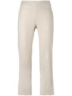 укороченные брюки прямого кроя Theory