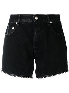 джинсовые шорты с заклепками Alyx