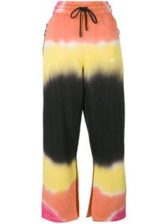 брюки с полосатым рисунком Off-White