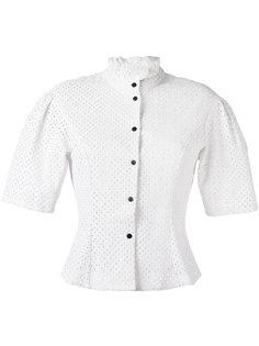 блузка из поплина с короткими рукавами Sonia By Sonia Rykiel