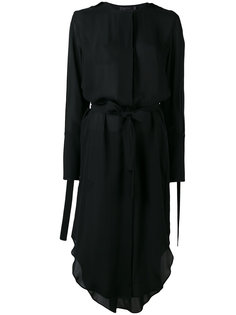 платье с завязками Calvin Klein Collection