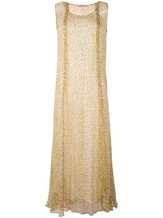 длинное платье-шифт Mes Demoiselles