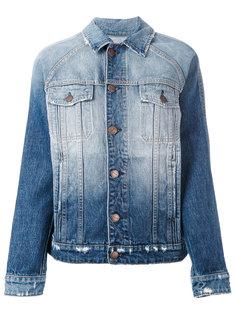джинсовая куртка с потертой отделкой Current/Elliott