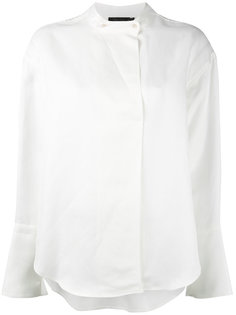 рубашка с воротником-стойкой Calvin Klein Collection