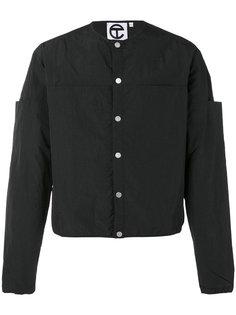 куртка без воротника Telfar
