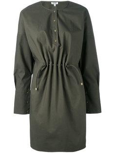 платье с присборенной талией Kenzo