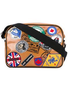 сумка с заплатками Dsquared2