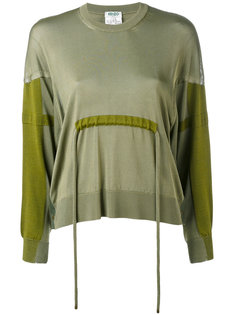 свитер с завязками на талии Kenzo