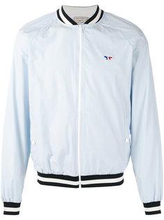 куртка-бомбер на молнии Maison Kitsuné