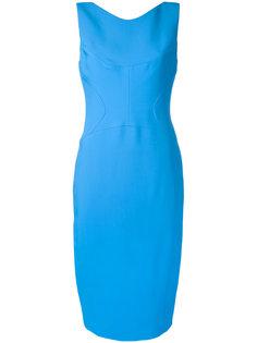 zip back midi dress Antonio Berardi