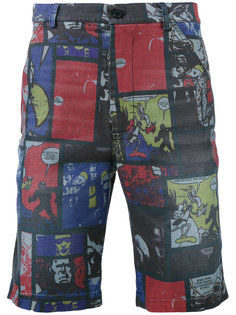 comic strip shorts Daniele Alessandrini