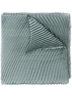 шарф с зигзагообразным узором Armani Collezioni