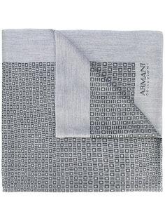 шарф с бахромой Armani Collezioni