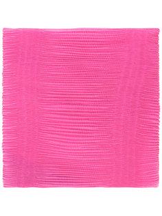 плиссированный шарф  Armani Collezioni