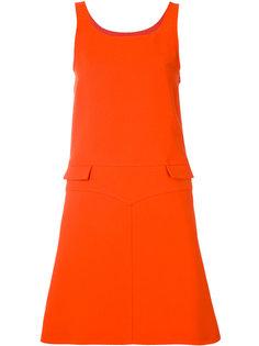 платье без рукавов с двумя карманами Courrèges